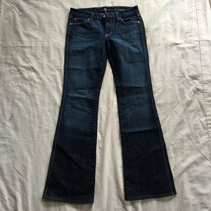 """7 For All Mankind """"A"""" Pocket Womens Sz 29"""